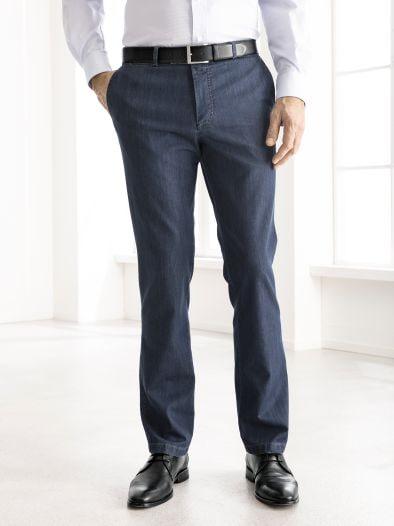 Jeans-Chino Seta