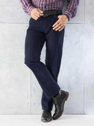 Five Pocket Active Cotton Slim Fit