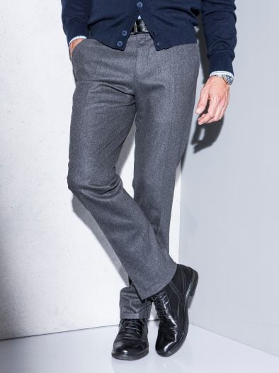 Business-Flanellhose Comfort Fit