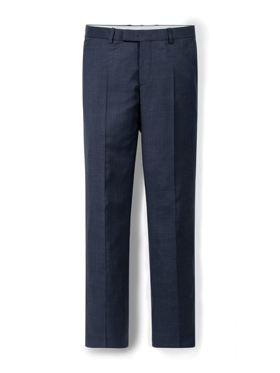 Schurwoll-Anzug-Hose S100
