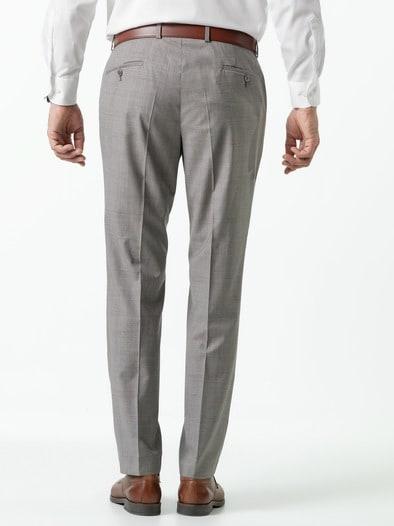 Glencheck Anzug Hose Super 130
