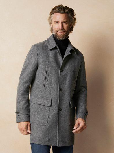 Schneiders Wollmantel Tweed
