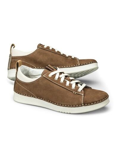 offizielle Bilder wähle authentisch Premium-Auswahl Nubuk-Sneaker Handnaht