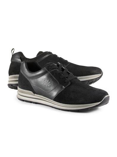 Leder-Sneaker Unbeschwert