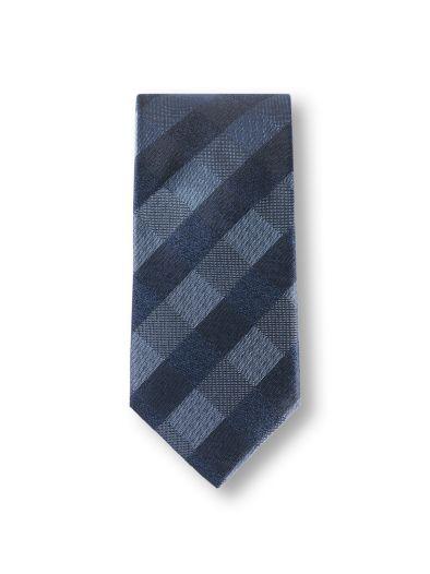 Karo-Krawatte Winterdark