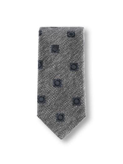 Krawatte Wolloptik