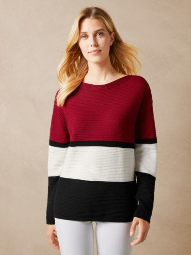 Betty Barclay Pullover Colourblock