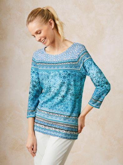 Betty Barclay Shirt Blue Shades