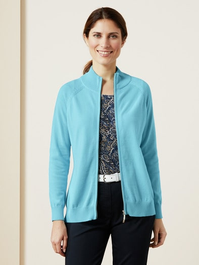 Zippcardigan Pima Cotton