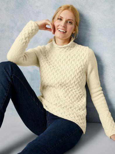 Irelandseye Trellis Sweater