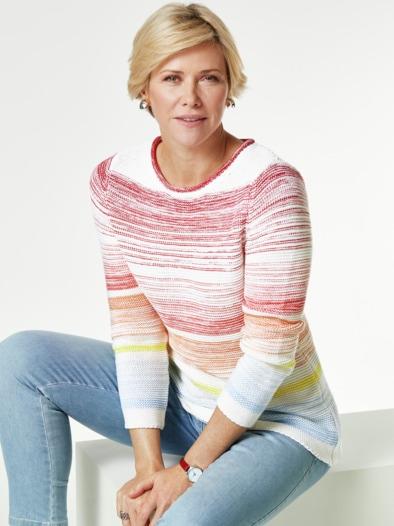 Pullover Farbverlauf