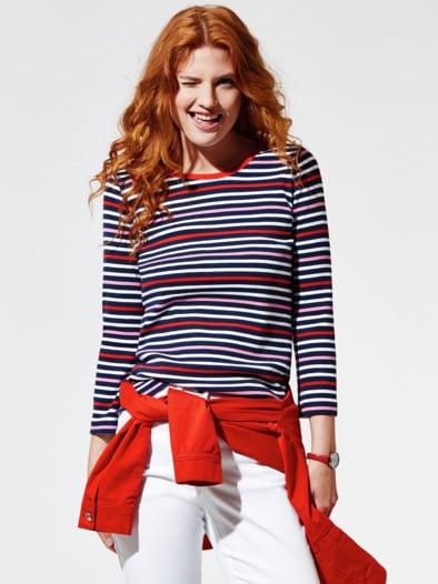 Maritimes Rippen-Shirt