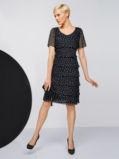 Layeringkleid Dots