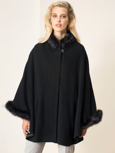 Exquisit Cashmere Cape