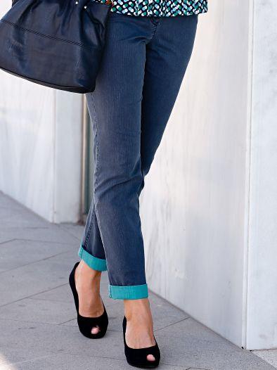 Turn-up-Jeans Trendline