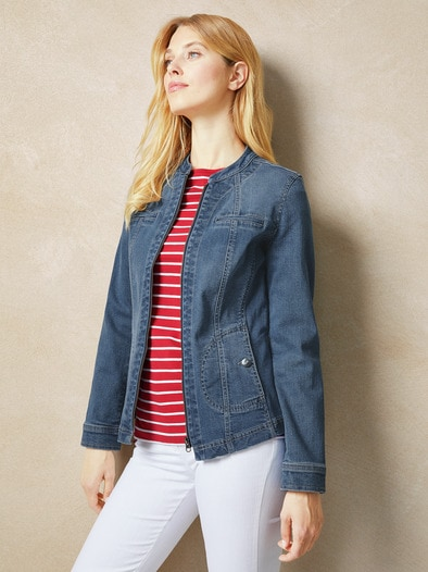 Powerstretch Jeansjacke