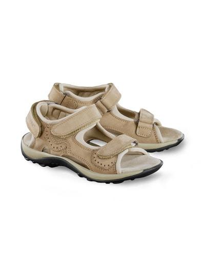 Sandale/Sandalette Leder (Posten)
