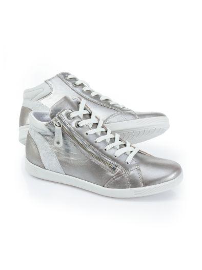 Hightop-Sneaker Puderstaub