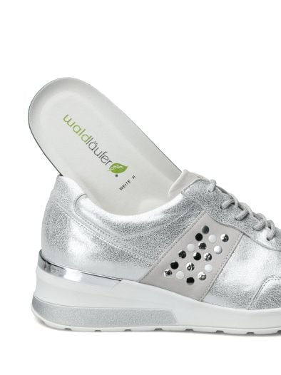WALDLÄUFER Damen Comfort Schuhe Sneaker Leder Gr. 38