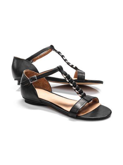 Sandalette Schmuckriemchen