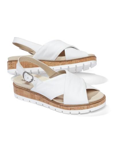 Kreuzriemen-Sandale