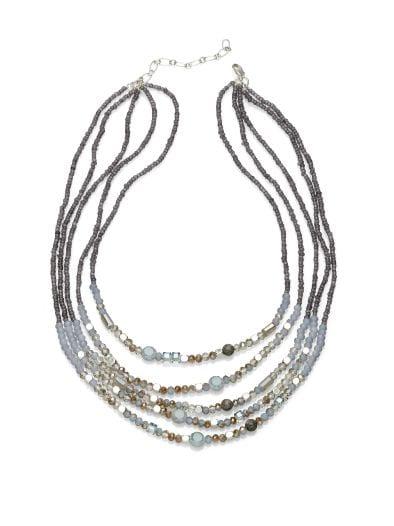 Kette Pearls of Grey