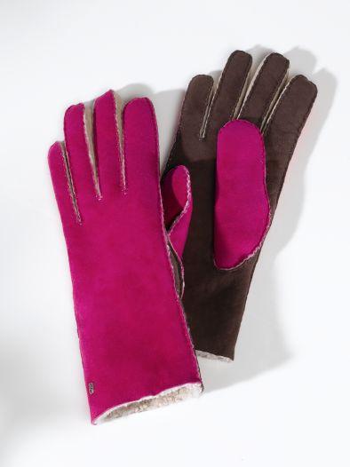 Lammfell-Handschuh Dame