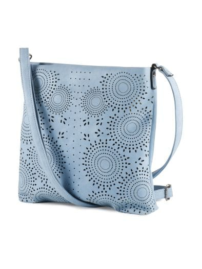 Tasche mit Blütenperforation