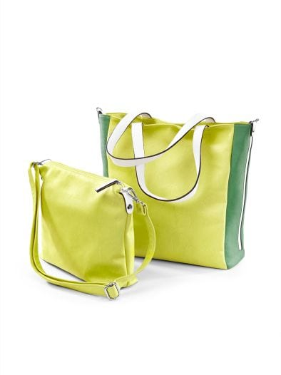 Bag-in-Bag Tasche Two Colour