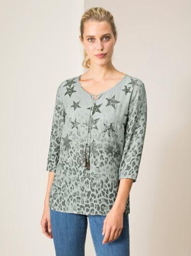 Betty Barclay Shirtluse Stars