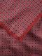 Seiden-Bandana Rot/Marine Detail 3