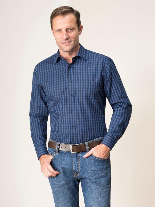 Leichtflanell-Hemd