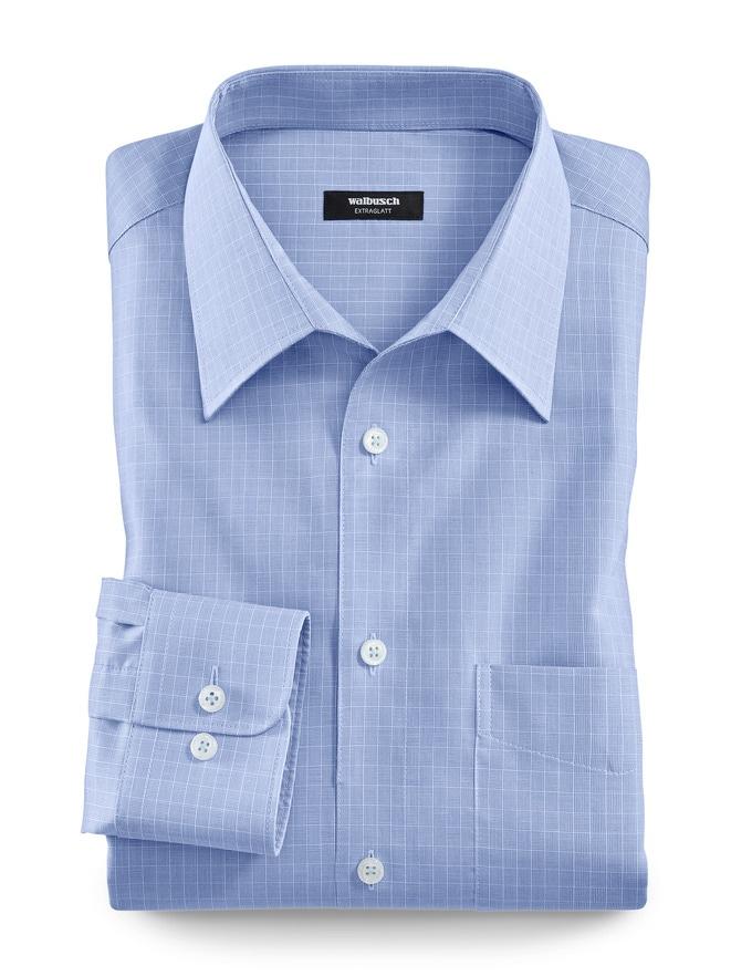 Extraglatt-Hemd Walbusch Kragen