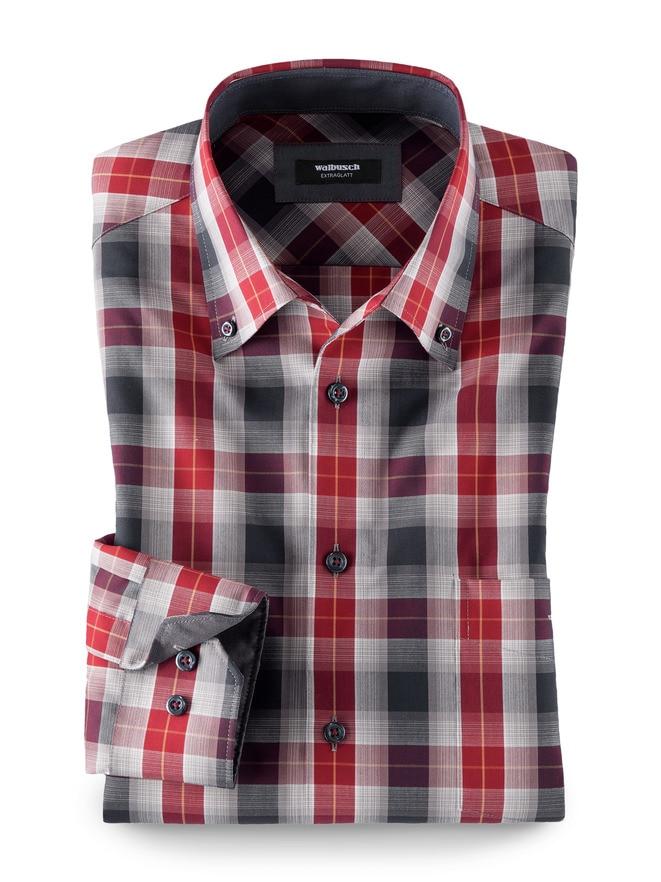 Extraglatt-Hemd Button-Down