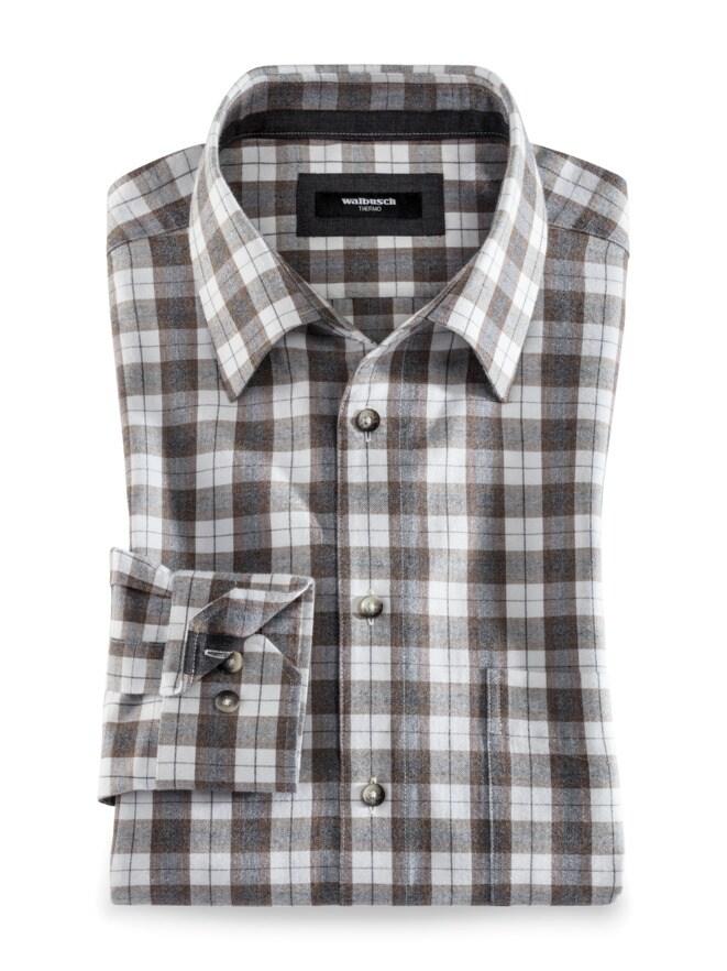 Luxus-Flanell-Hemd