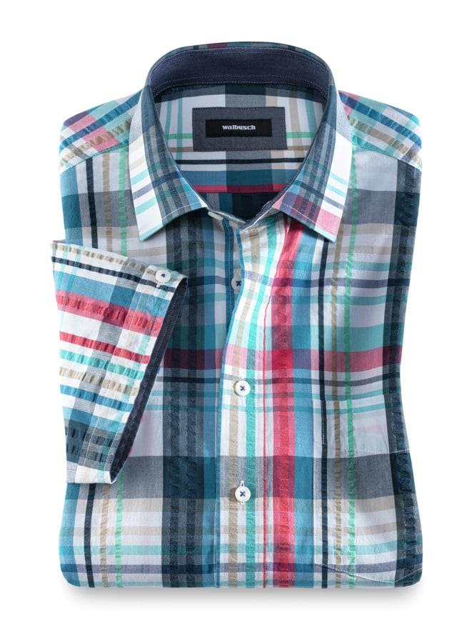 Seersucker Hemd