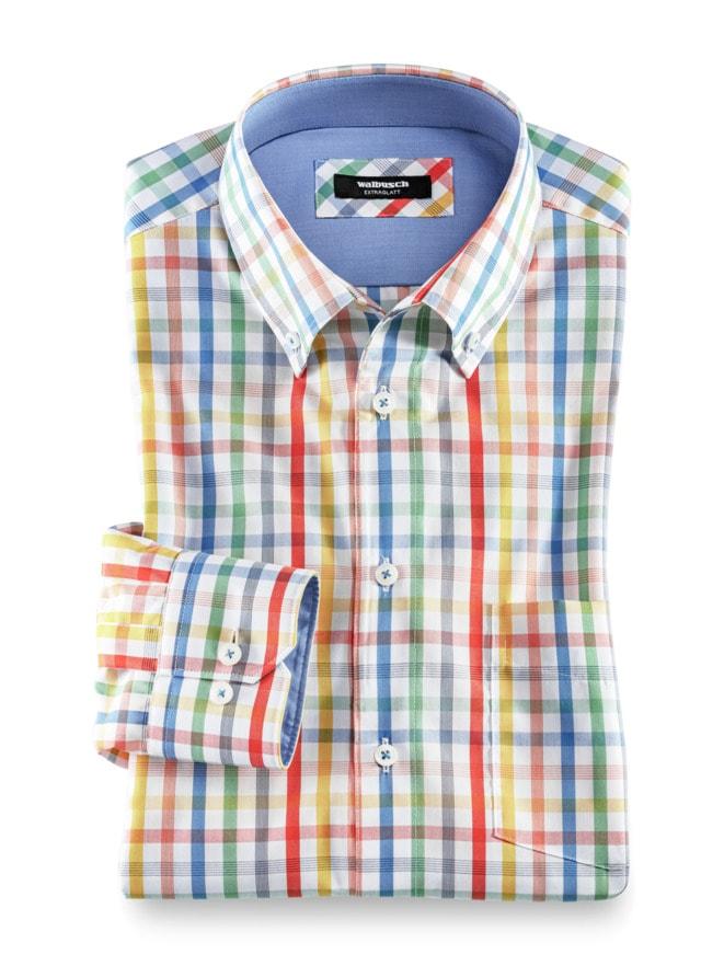 Extraglatt-Hemd Button Down
