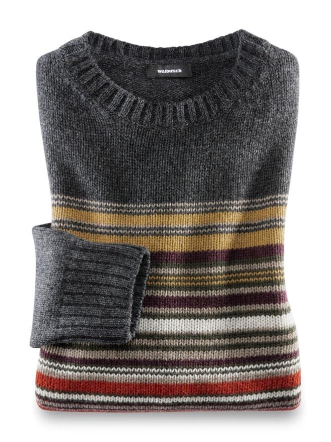 Streifen Pullover Baby Alpaka