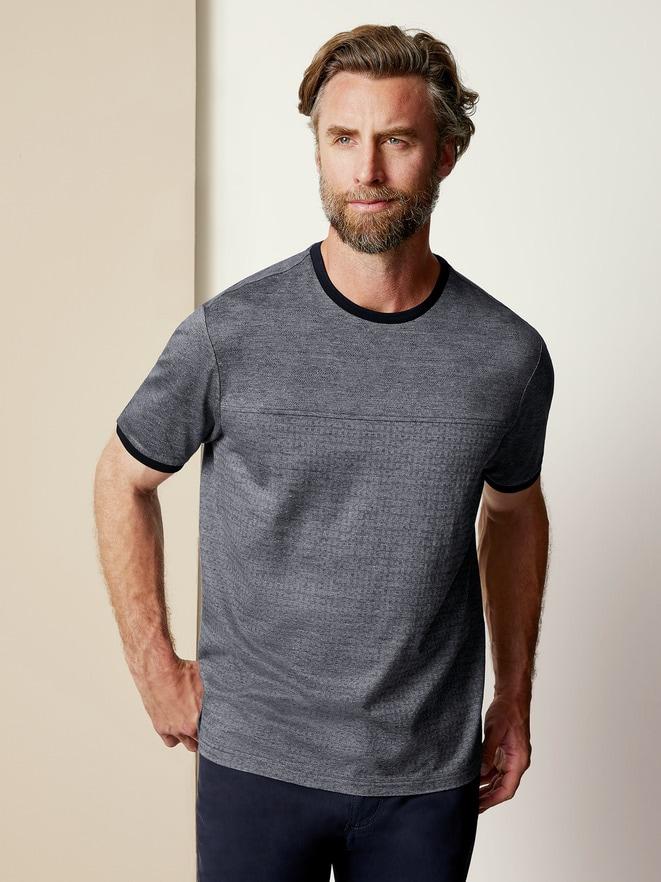 Jacquard- T-Shirt Shadow