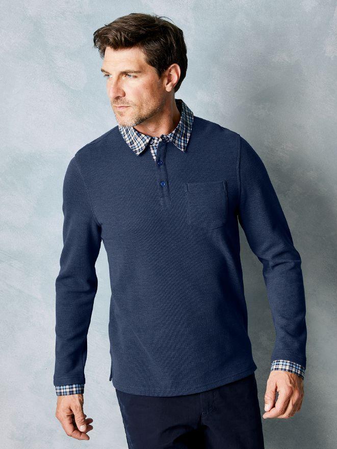9b720aa92bbc8a Hemd Blau 2 1 Pullover In Walbusch r8Bq4rU