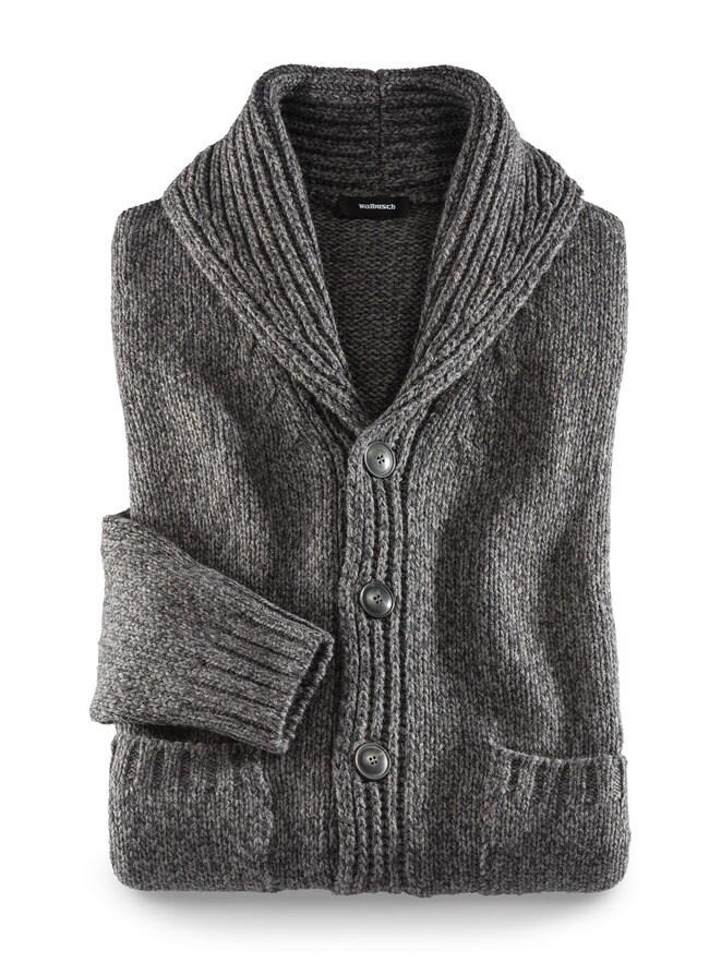 Grobstrickjacke Himalaya-Wolle