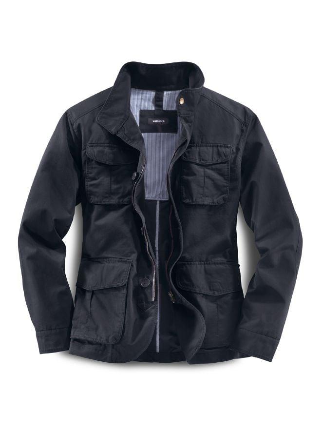 38dc343604c8a3 Baumwoll Freizeit Jacket