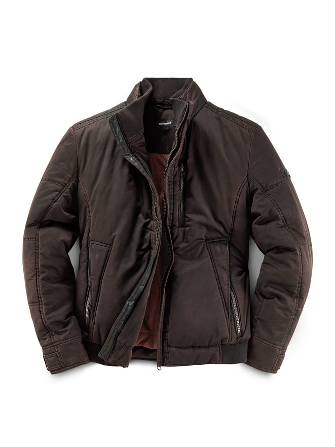 Thermo Blouson Black Covered