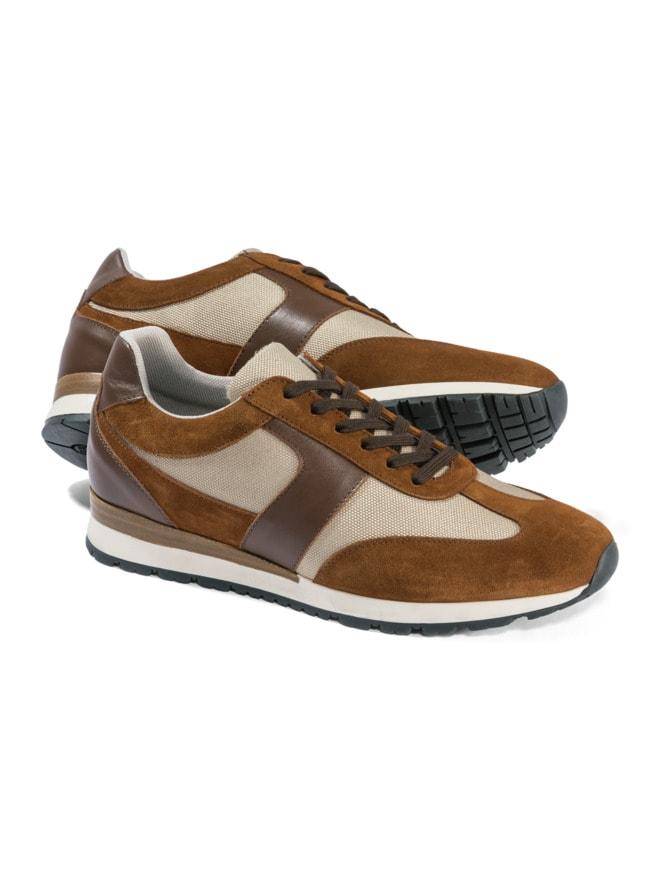Materialmix-Sneaker