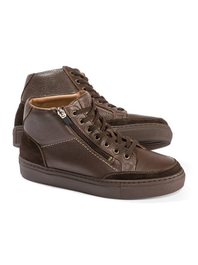 Hirschleder Sneaker High-Top