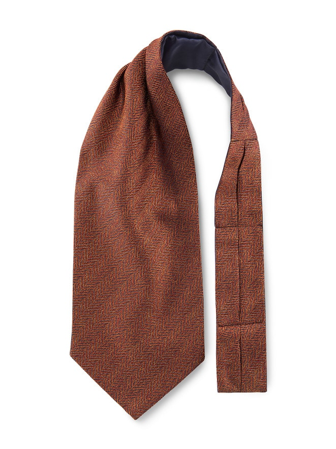 price reduced outlet store sale 100% top quality Krawattenschal Tweedoptik
