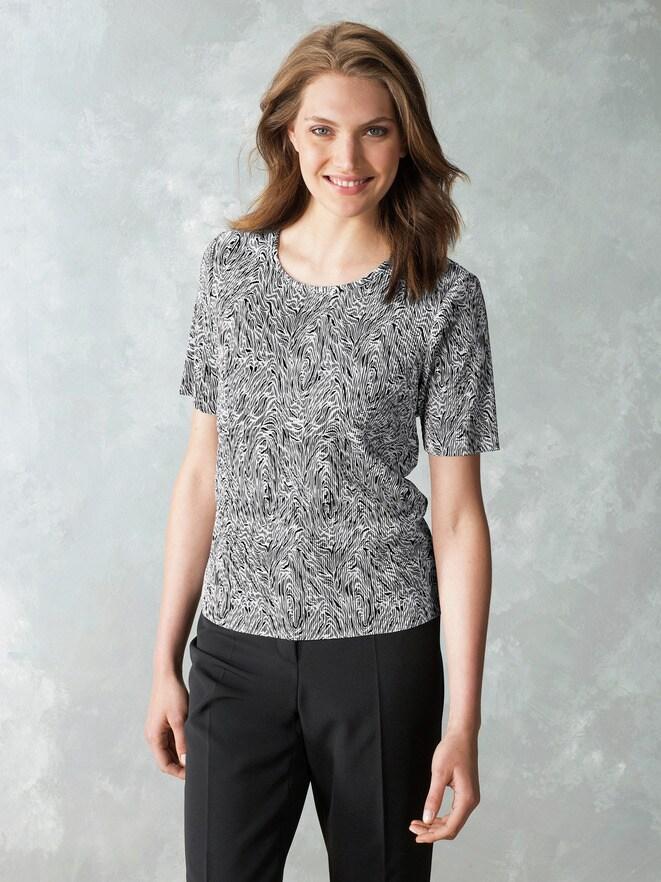 Franca Francani Plissee-Shirt