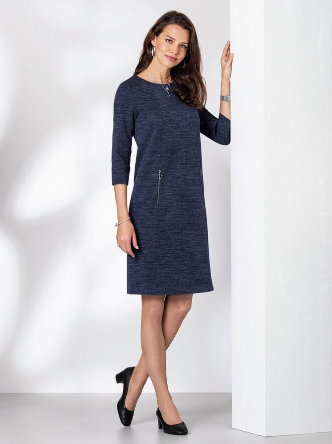 Jerseykleid Melange