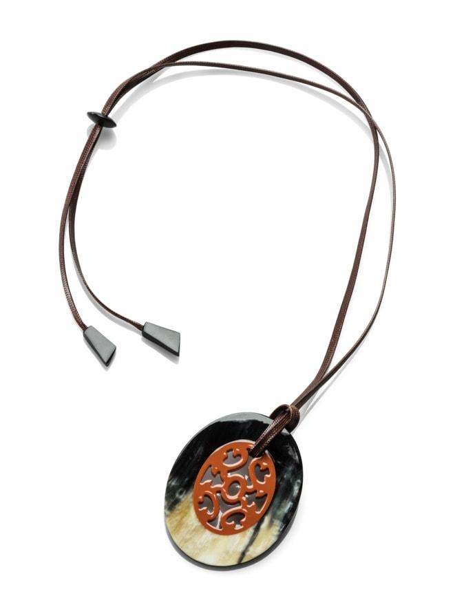 Hornanhänger Ornament