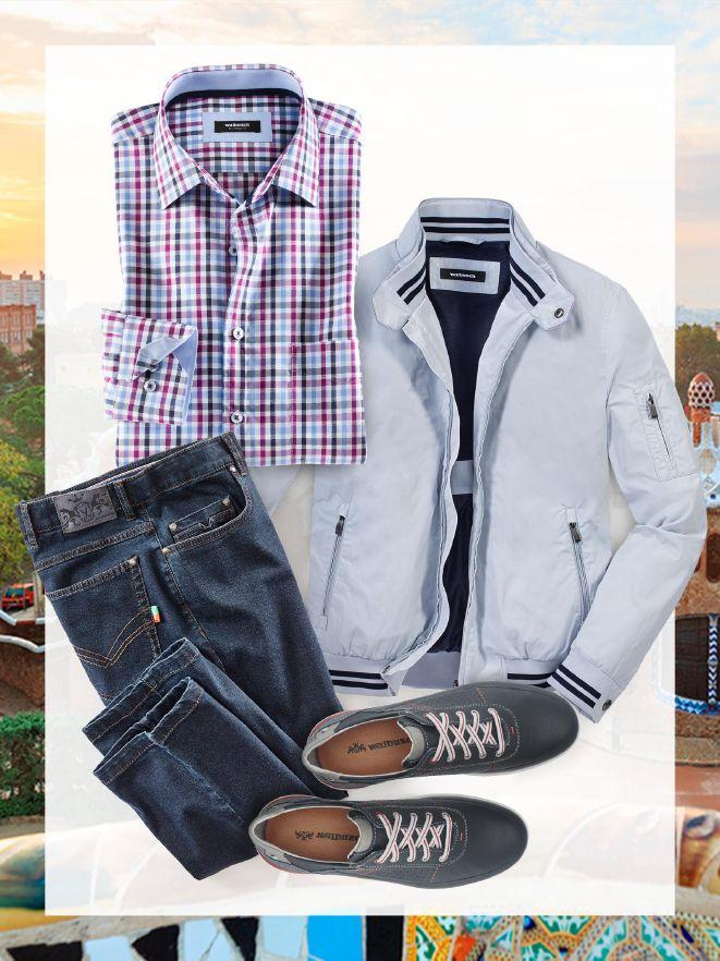 Herren-Outfit für den Städte-Trip